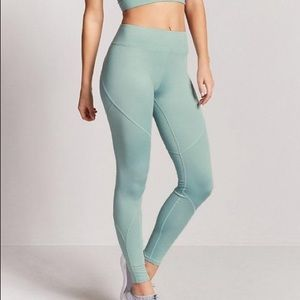 2FOR20 ‼️FOREVER 21 ✨ Teal High Waisted Leggings
